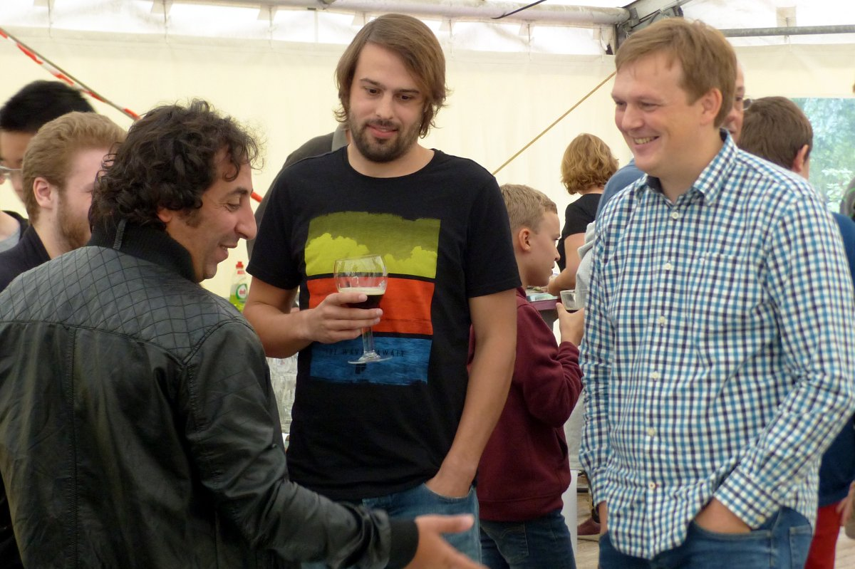 foto Diederik met Niels en Mo