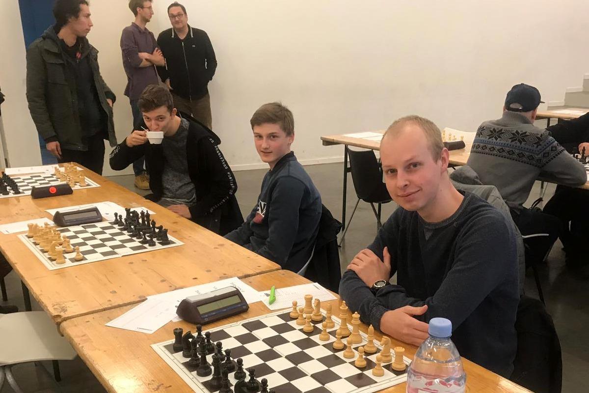 Foto Niels, Matthias en Mats