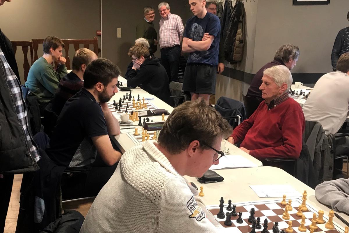 foto Yves (Dworp 3), Filip, Niels en Felix